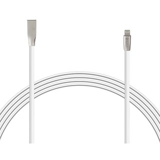 OPLUS (Pack of 2) USB DATA CABLE IPHONE 1.5Meter DIAMOND - WHITE With 1 Year Warranty