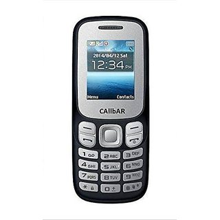 Callbar Bold 312 Dual Sim Mobile Phone With 1.8 Inch Display, Auto Call Recorder, 1050 Mah Battery (Black Color)