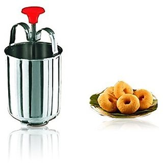 Ankur Silver Stainless Steel Mendu Vada Maker No. of Pieces 1