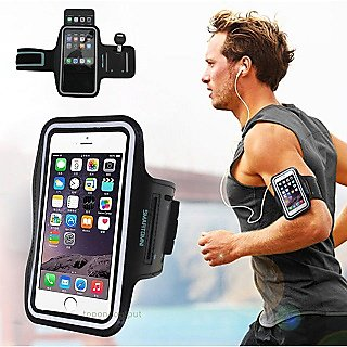 on sale f350c c9bb6 Sports Arm Band 4.7 inch Mobile Screen With Key holder Slot, i-phone Case  Best For Running Jogging Gym Cycling Biking