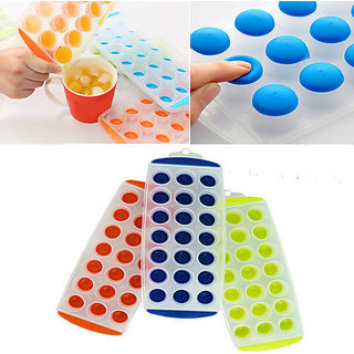 Pop Up Ice Cube Tray For Ice / Chocolate / Jelly Sphere Maker 1pcs