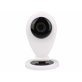 Wireless IP Camera/WiFi Indoor Security CCTV Camera System Video Monitor with Inbuilt Mic Supports Micro Sd Card 2 W