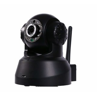 Wireless HD IP WiFi Indoor Security CCTV Camera System Video Monitor (Inbuilt Mic Supports Micro Sd Card with 2 Way Au