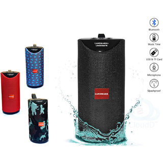 LANDMARK Bluetooth Speaker Best Sound Quality Playing with Mobile/Laptop/AUX/Memory Card/Pan Drive( Multi-Color )