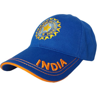 TyranT Unisex Cotton Team India ODI T-20 Cricket Supporter Cap