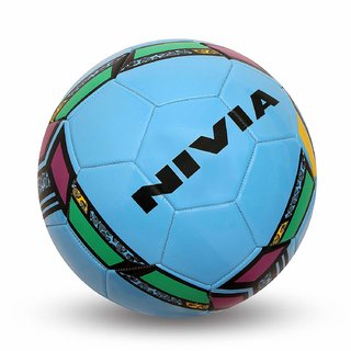 Nivia World Fest Country Football Size 5 (Multi Color)