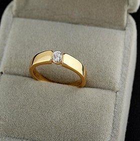 Original  Certified Stone Diamond Ring Lab Certified Diamond Gold Plated Ring Jaipur Gemstone