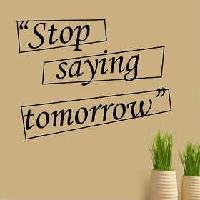 Asmi Collections Wall Stickers Success Motivational Quotes