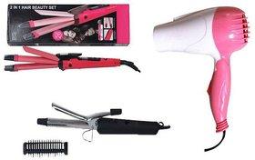 Dawn Pack of Hair Curler, Hair Straightener, Hair Dryer