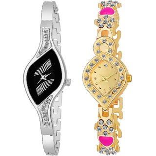 TRUE CHOICE NEW FASHION 2 NEW BEAUTIFUL WATCH FOR GIRLS N WOMEN WITH 6 MONTH WARRANTY