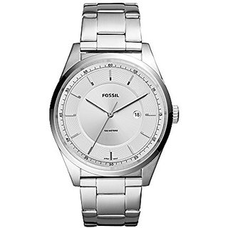 Fossil Analog Silver Dial Mens Watch-FS5424