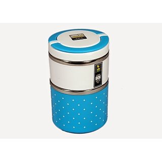 Veera Tech - 2 layer branded lunch box with premium qulaity