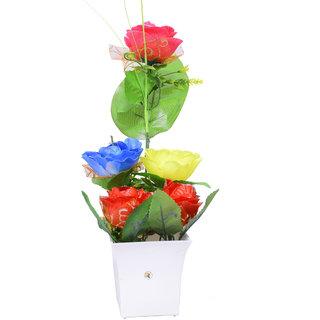 Beautiful Multicolor Flower Pot For Home Decoration