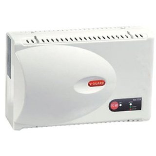 V Guard VG 400 Voltage Stabilizer for Air Conditioner  Grey