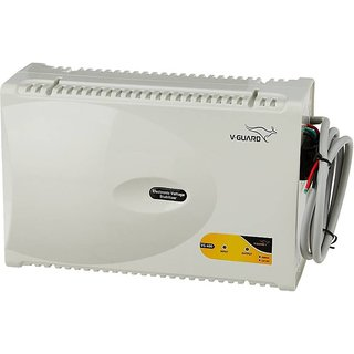 V Guard VG 500 Voltage Stabilizer for Air Conditioner  Grey