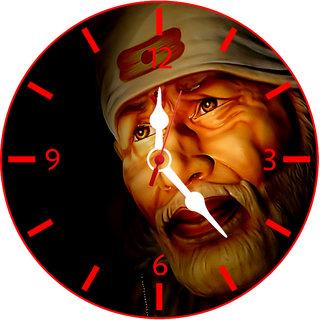 SAI BABA WALL CLOCK BT066