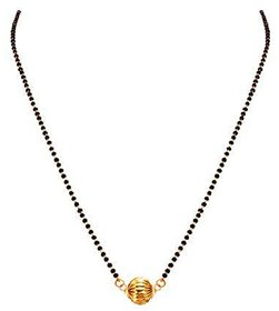 Ankur glamorous gold plated mangalsutra for women