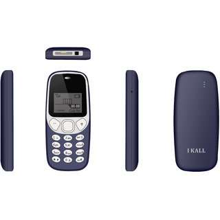 I KALL K74 1.4 inches(3.56 cm) Single Sim 600 Mah battery BIS Certified Red Mobile Phone