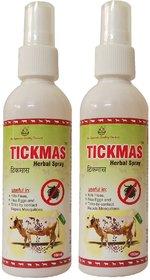 Tickmas Herbal Spray For Animal - Kills Fleas, Flea Eggs And Ticks By Contact Repels Mosquitos - Pet Safety Spray