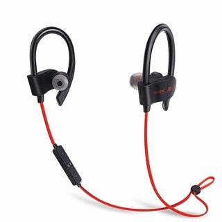 SBA ENTICE Bluetooth Wireless QC10 Headphones Bluetooth Headset with Mic   Black, On the Ear