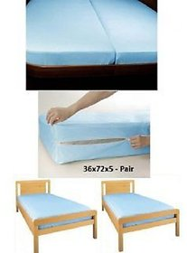 Fully WaterProof Set Of 2 Single Bed Mattress Covers