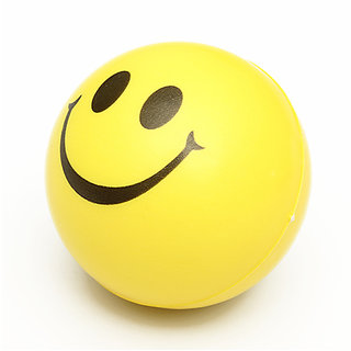 CHILDRENS ZONE Smiley Face Squeeze Stress Ball
