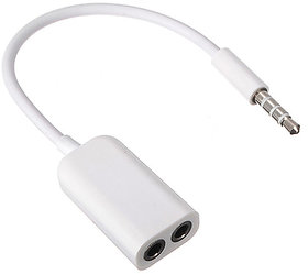 3.5 mm y splitter cable for headphones and Receiver