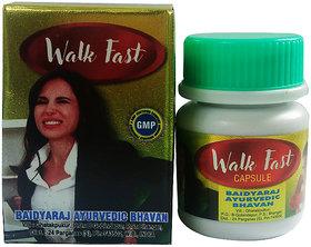 Baidyaraj Ayurvedic Bhavan Walk Fast Capsule