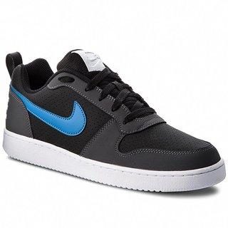 1c6d73d3c7e 24%off Nike Mens Court Borough Low   Blk-Blu-Gry-Wht Sneakers