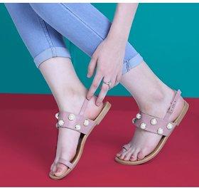 Estatos Women's Purple Sandals