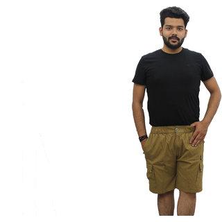 Yuneek Fashion Wear Brown Shorts For Mens