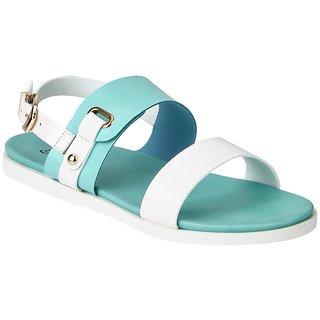 Estatos Women's Turquoise Sandals