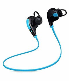 GO SHOPS Bluetooth Wireless Sports Headphones with Mic Noise Cancellation Sweatproof Earbuds for All Smartphone