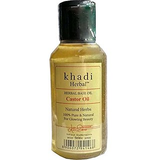 Khadi Herbal Ayurvedic Castor Oil (100 ml)