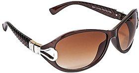 Meia Uv Protected Oval Women's Sunglasses