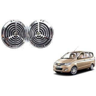 KunjZone Roots Megasonic Chrome Horn Set of 2 Pcs For Chevrolet Enjoy