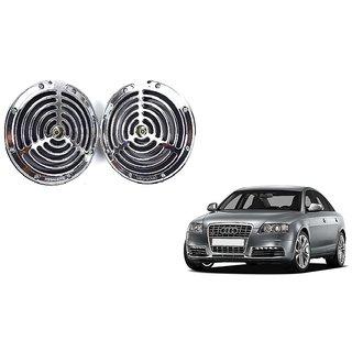 KunjZone Roots Megasonic Chrome Horn Set of 2 Pcs For Audi S6