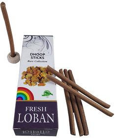 Stylewell Pack of 2 Rare Collection Charcoal/Pollution Free Dry Fresh Loban Fragrance Dhoop Sticks for Worship / Puja
