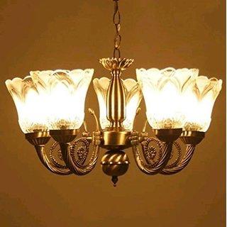 KAPDHOLIA 5 LIGHT PEACE GLAM JHOOMER CEILING LAMP