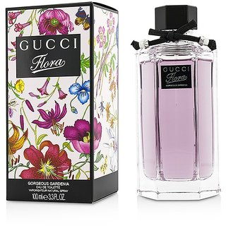 GUCCl FLORA GORGEOUS GARDENIA(PURPLE)EDT FOR HER 100ML