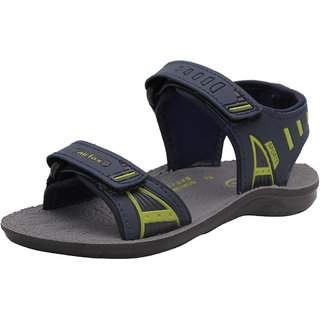 AIR FAX Boys Fashion Comfort Trendy Solid Casual Sandal (KIDS CYBER)(PU SOLE)