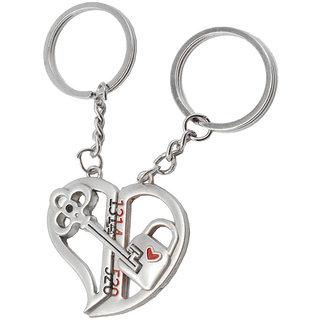 Faynci Love Gift Key of the True Love Couple Key Chain