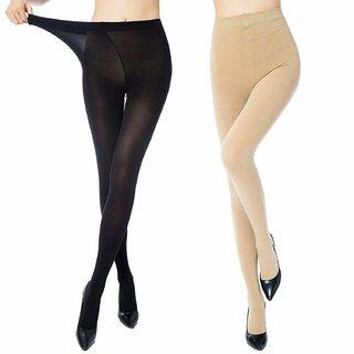 12ed9b038 EVASHE New Stylish best Quality Full size Pantyhose Stockings For Women/girls/  ( Black