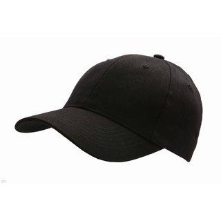 6c146f57fb7 Black Cotton Formal Full-Covered Caps