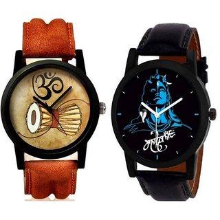 Mahadev Pack of 2 Boy Watches
