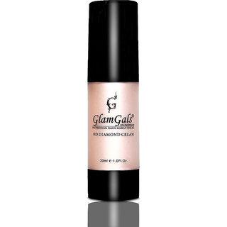 GlamGals HD Diamond Cream-illuminator Gold, 30ml