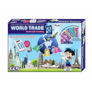 Tingoking Annie World Trade Electronic Banking Toy with Swipe Machine, Blue - (Medium)