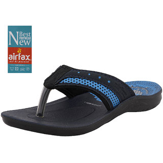 AIR FAX Boys Fashion Comfort Trendy Solid Casual Slippers (ALBERT 1)