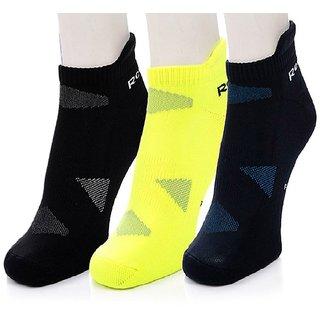 R Low Cut Ankle Socks - Pack of 3