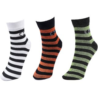 3 Pair Pack Ankle Socks By CalvinJones